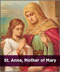 St. Anne, Mother of Mary