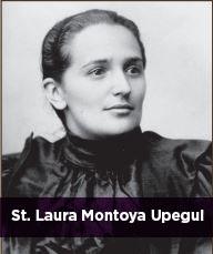 St. Laura Montoya Upegul